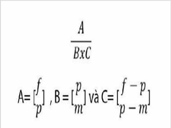 Cách tính xác suất trúng số Vietlott