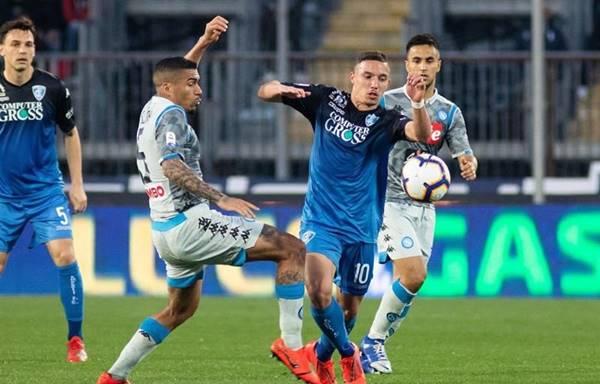 Nhận định trận đấu Napoli vs Empoli, 23h45 ngày 13/01